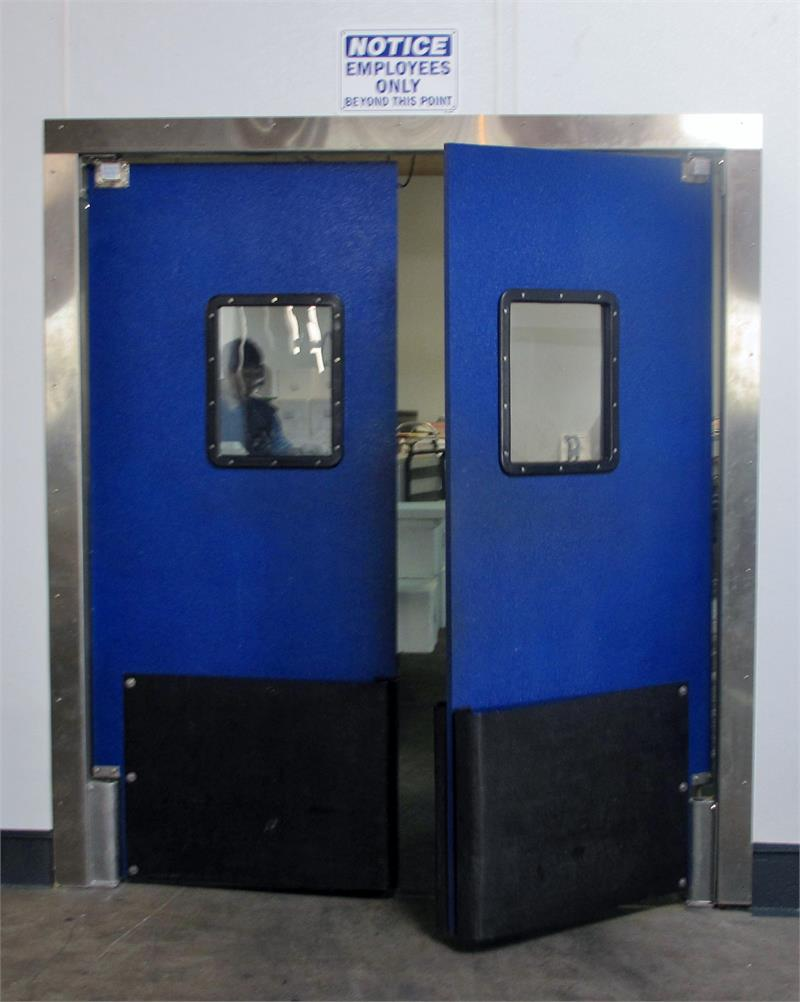 Restaurant Kitchen Doors : Restaurant kitchen doors stainless steel double